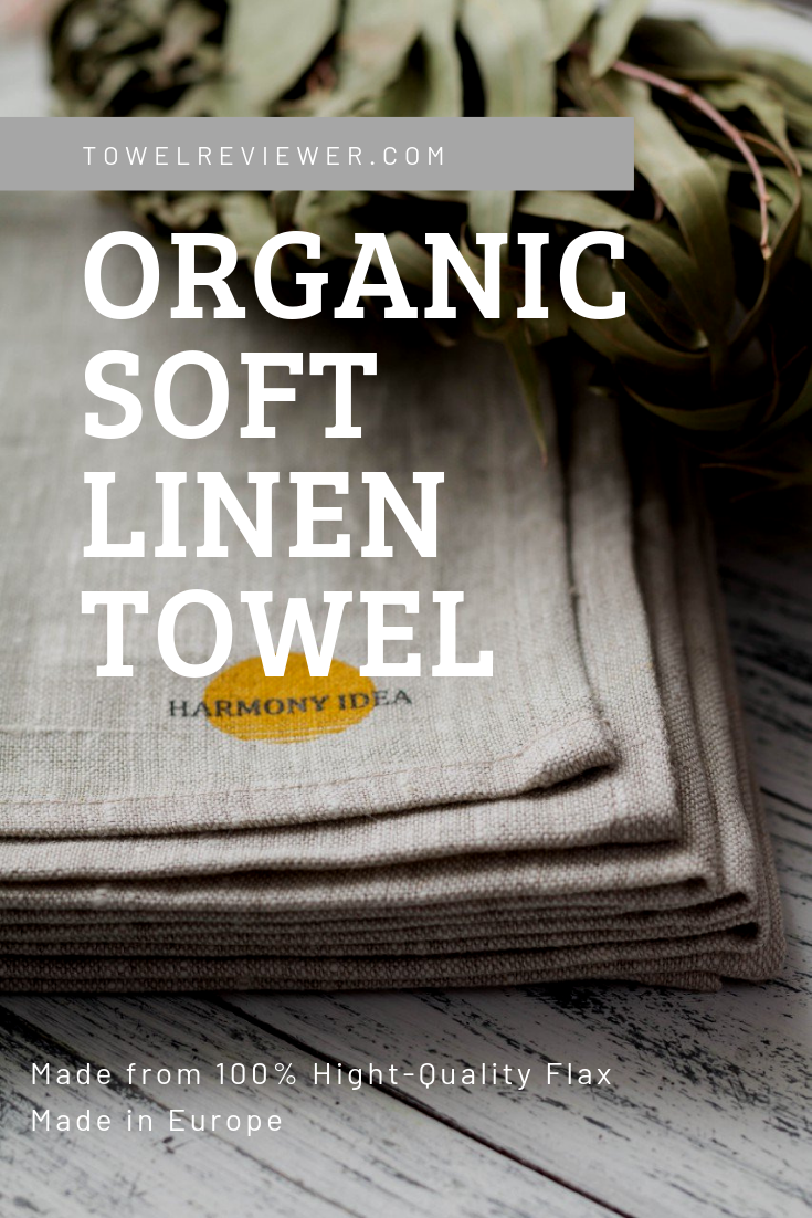 This Marmony Idea Quick Dry Towel Made With Organic Linen Which