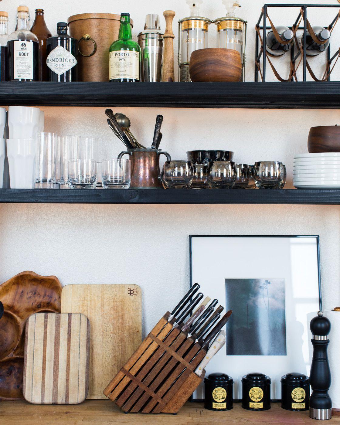 Pin By Reham Hany On Open Shelving: Open Kitchen Shelving, Open