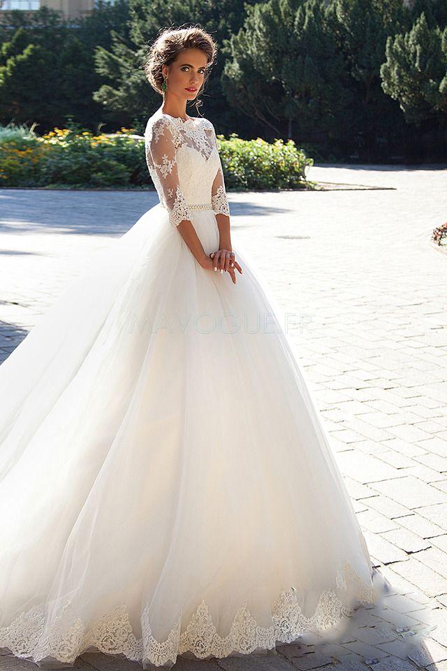 270.16 € ] Robe de mariée princesse trapè