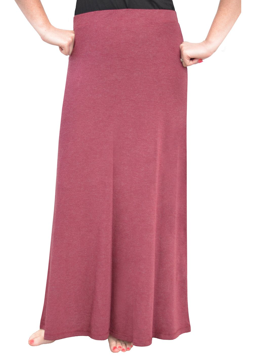Directional Yet Demure Clothing For The Cool Modern Woman: Check Out This Modest Maxi Skirt For Women! Comfortable