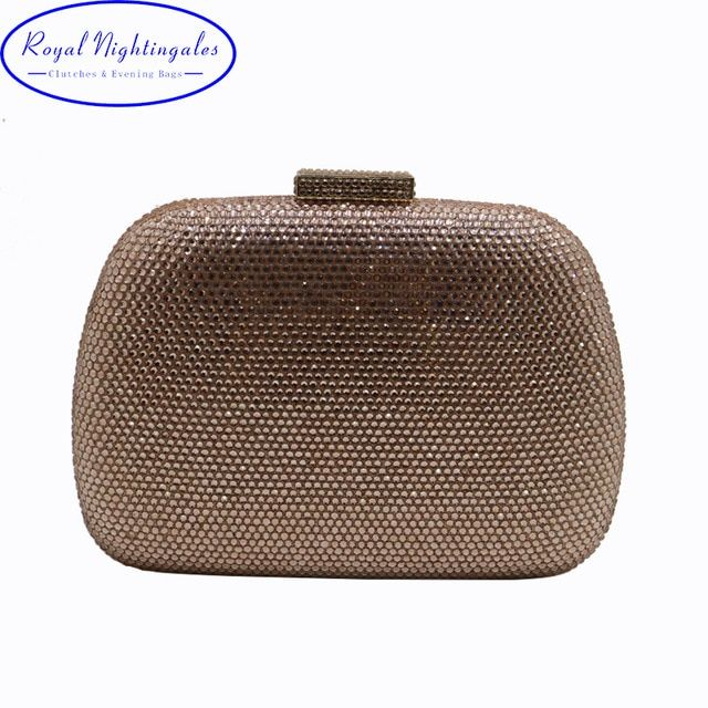 RN Wholesale Womens Crystal Box Hard Case Evening Clutch Bag and Evening  Bags for Party Prom Evening Black Purple Champagne Review 61f16f5fa23a6
