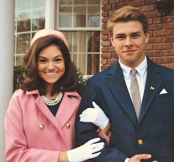 John & Jackie Kennedy #couplehalloweencostumes