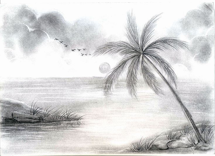 Awesome Drawing Drawing Ideas Pencil Sketch Drawings Ideas Lands Landscape Nature Pencil Scenry Drawing Scenery Landscape Sketch Easy Nature Drawings