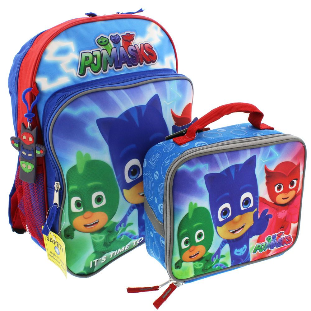 a442503caf73 PJ Masks 14 inch Backpack and Lunch Box Set Disney Junior #Disney ...