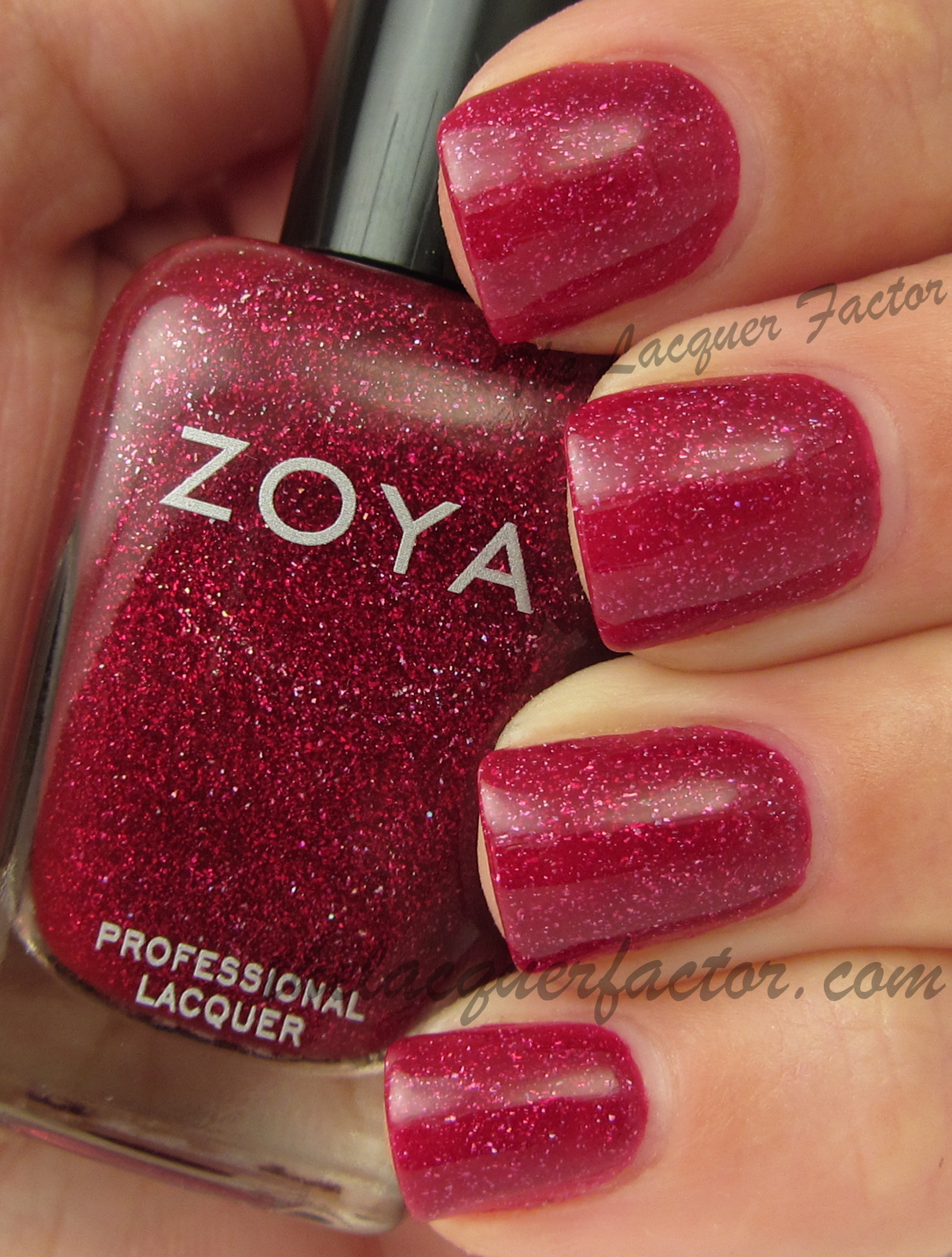 Zoya Nail Polish Blaze | The Lacquer Factor Blog | Pinterest | Zoya ...