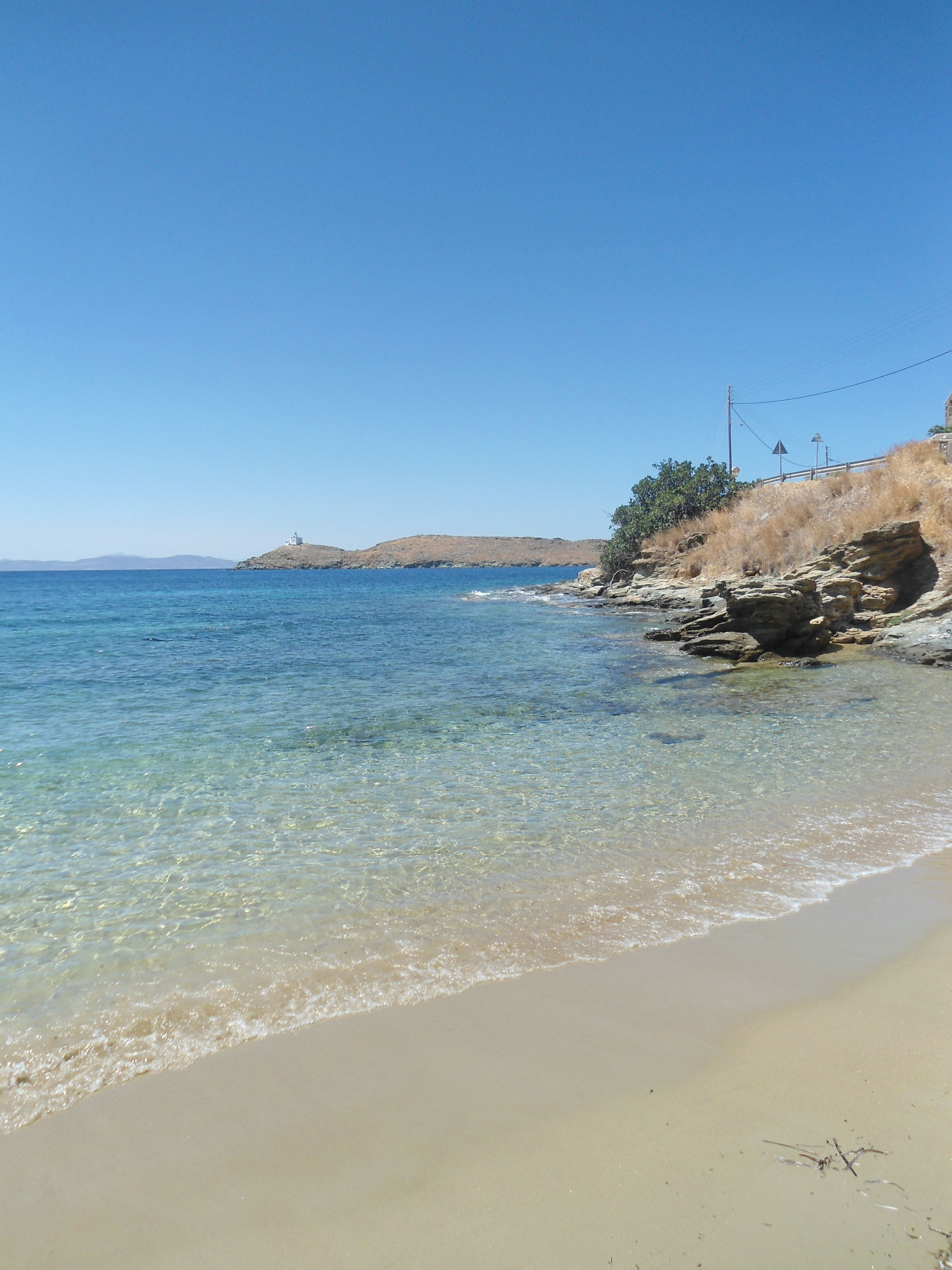 Beach At Kea Island Greece