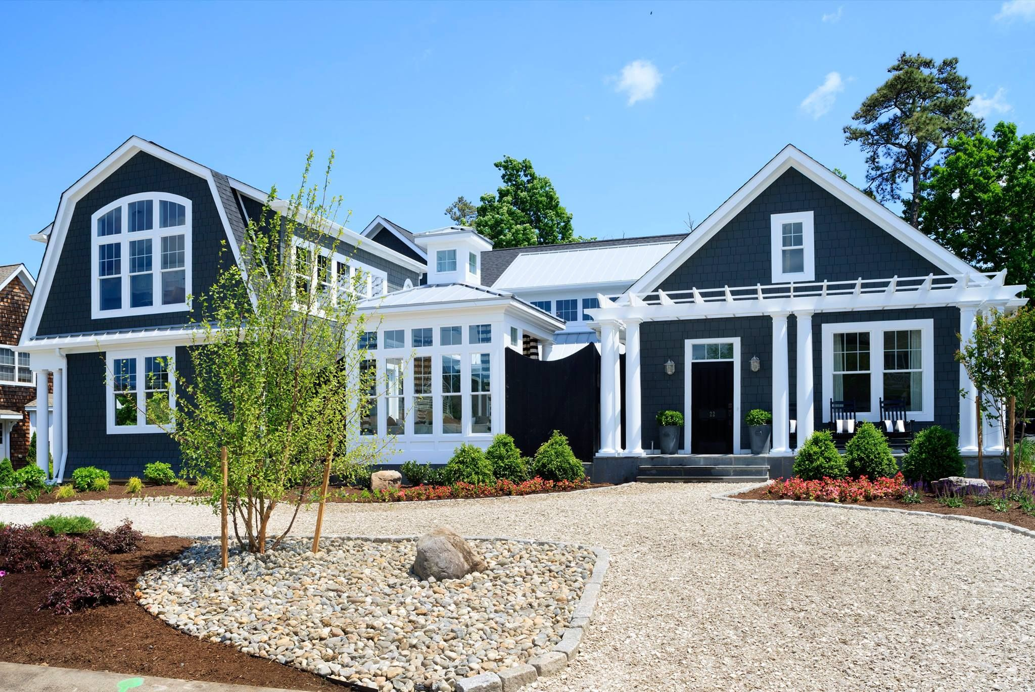 Petrone Beach House With Oyster Shell Driveway Rehoboth Beach Pad Pinterest Oyster Shells
