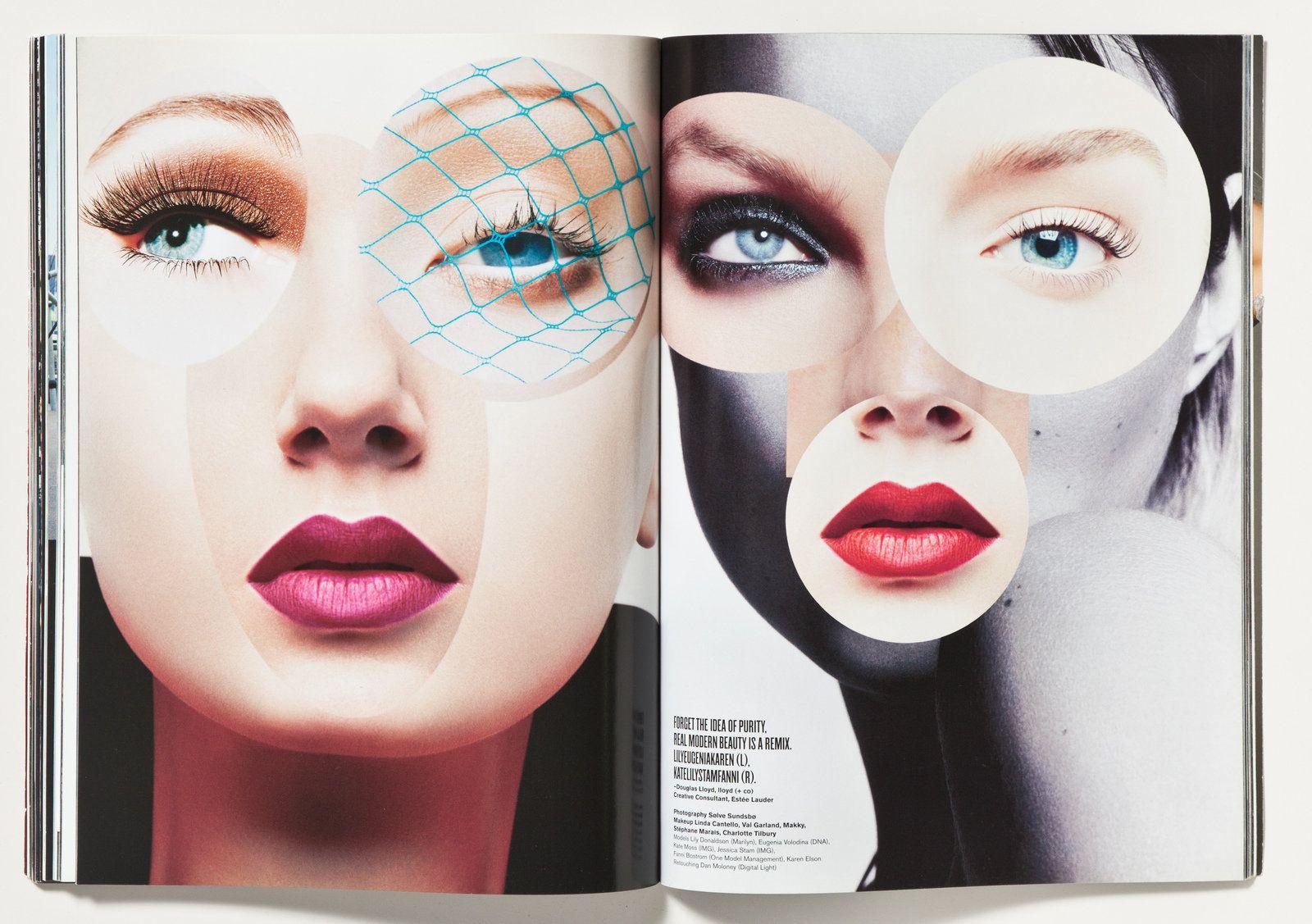 make-up by stephane marais for v magazine 2006