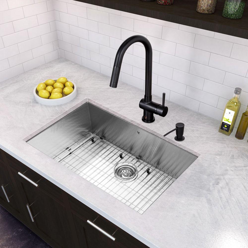 VIGO AllinOne 23inch Stainless Steel Undermount Kitchen