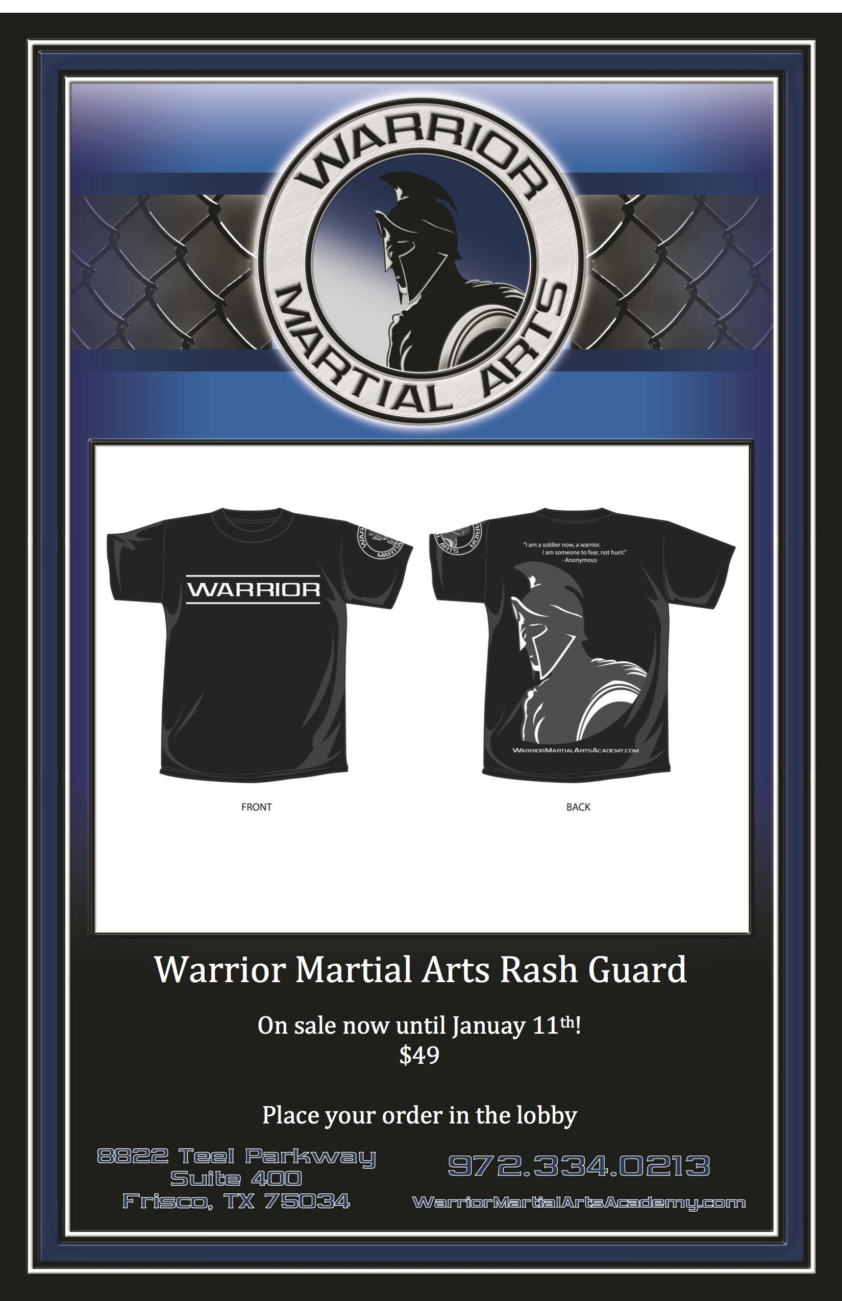 Our Competition Team Will Be Showing Off Their Warrior Pride Wearing These Rash Guards While Dominating The Mat At Tournaments Martial Arts Martial Pride Wear