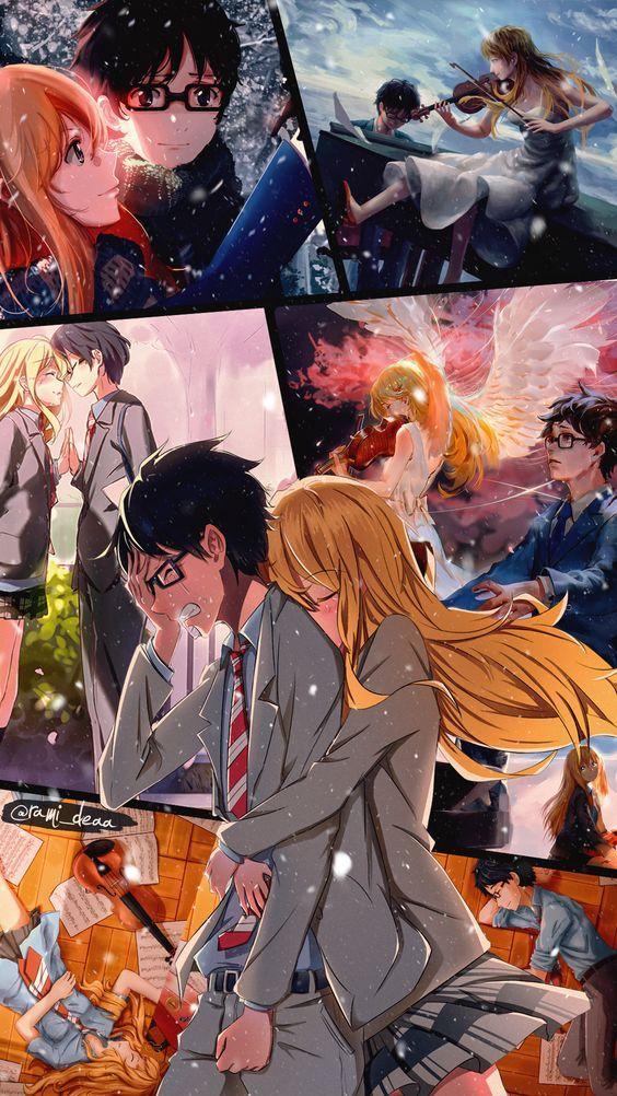 Pin de LoganMridul en Anime Shigatsu wa kimi, Kimi no