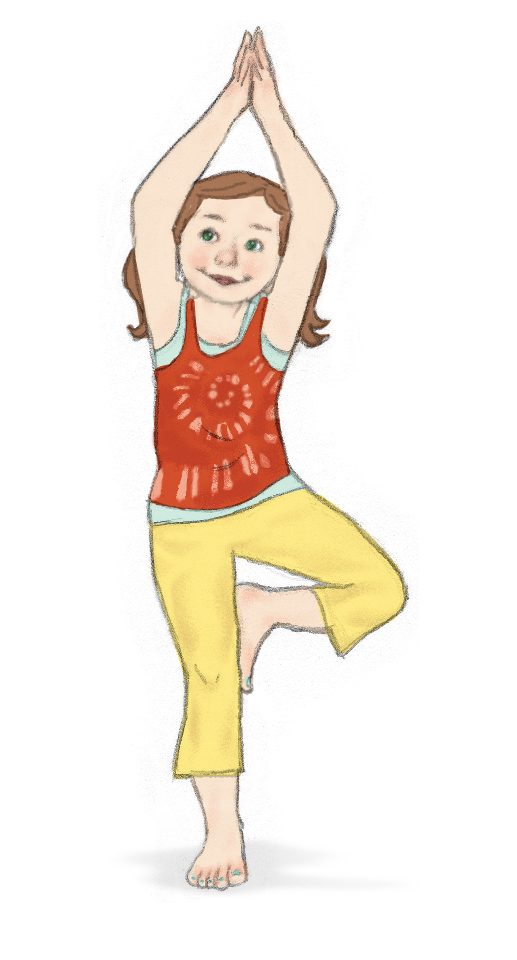 Tree Pose For Kids
