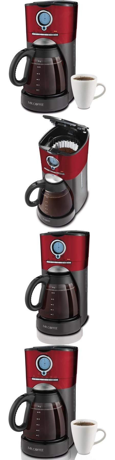 Mr. Coffee 12Cup Auto Shutoff Programmable Coffee Maker