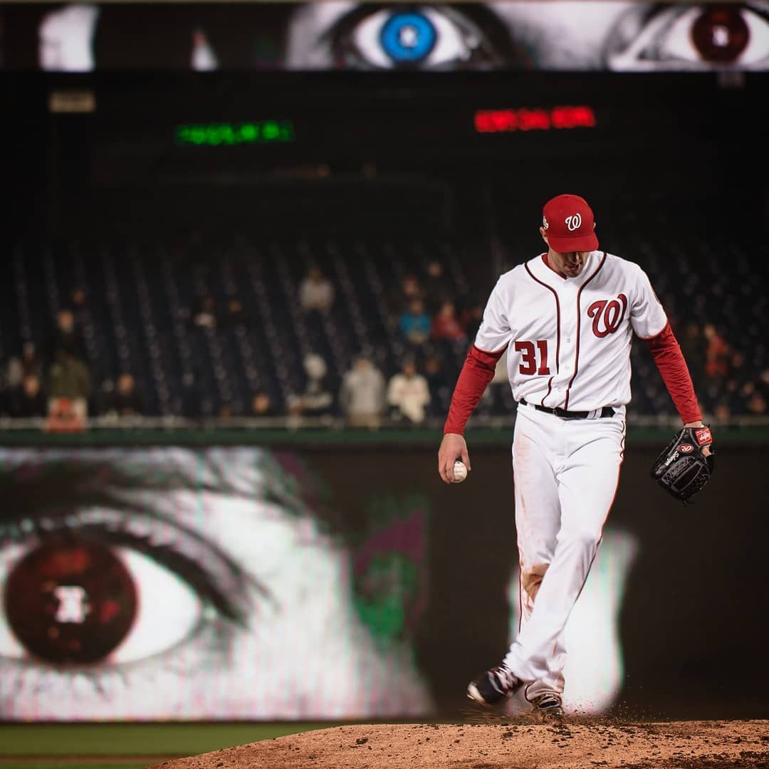Of Course National Different Colored Eyes Day Falls On A Scherzday Washington Nationals National Different Colored Eyes