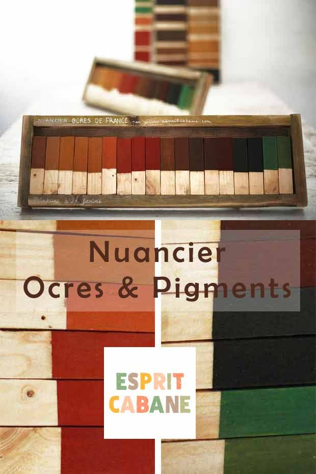 Ocres et terres colorantes : le nuancier de la peinture à la farine - Esprit Cabane en 2020 ...