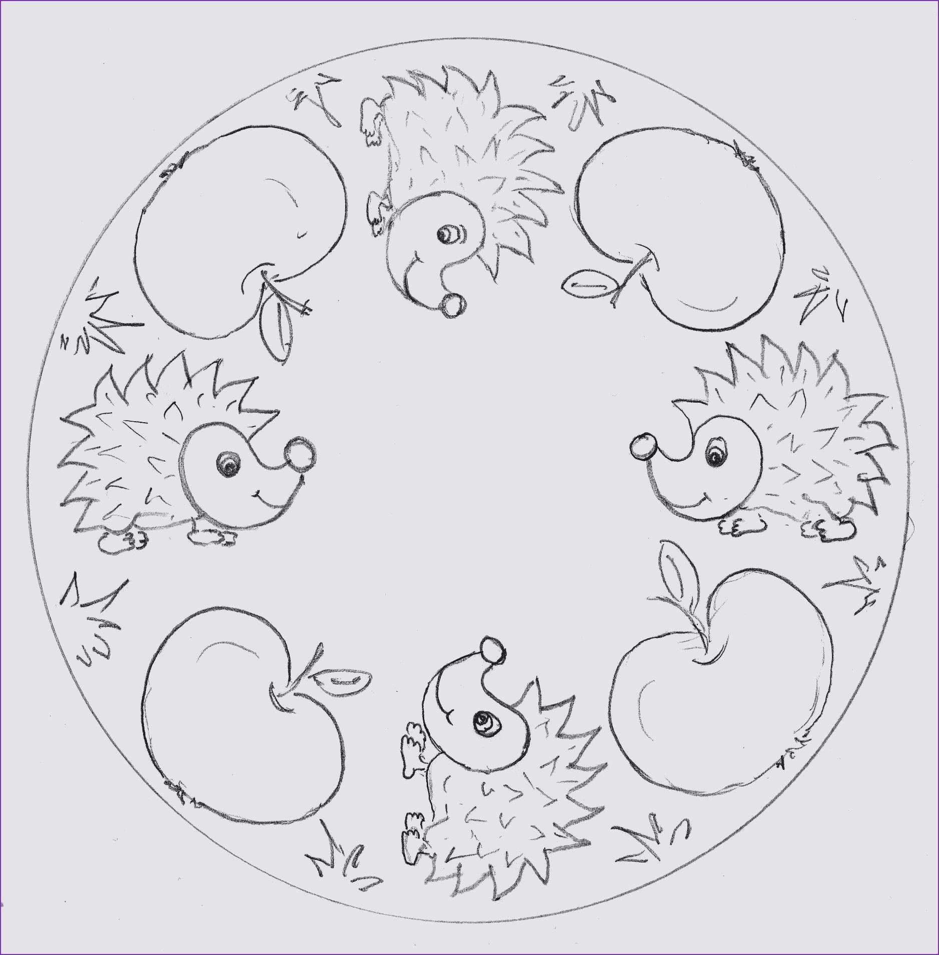 Frisch Quad Malvorlagen Gratis  Mandala, Autunno, Bambini