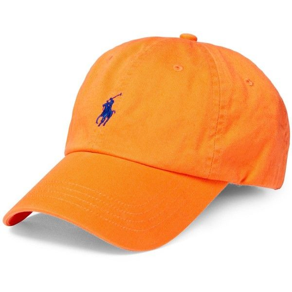 8f5f5beb7b4 Polo Ralph Lauren Classic Chino Sports Cap ( 40) ❤ liked on Polyvore  featuring men s