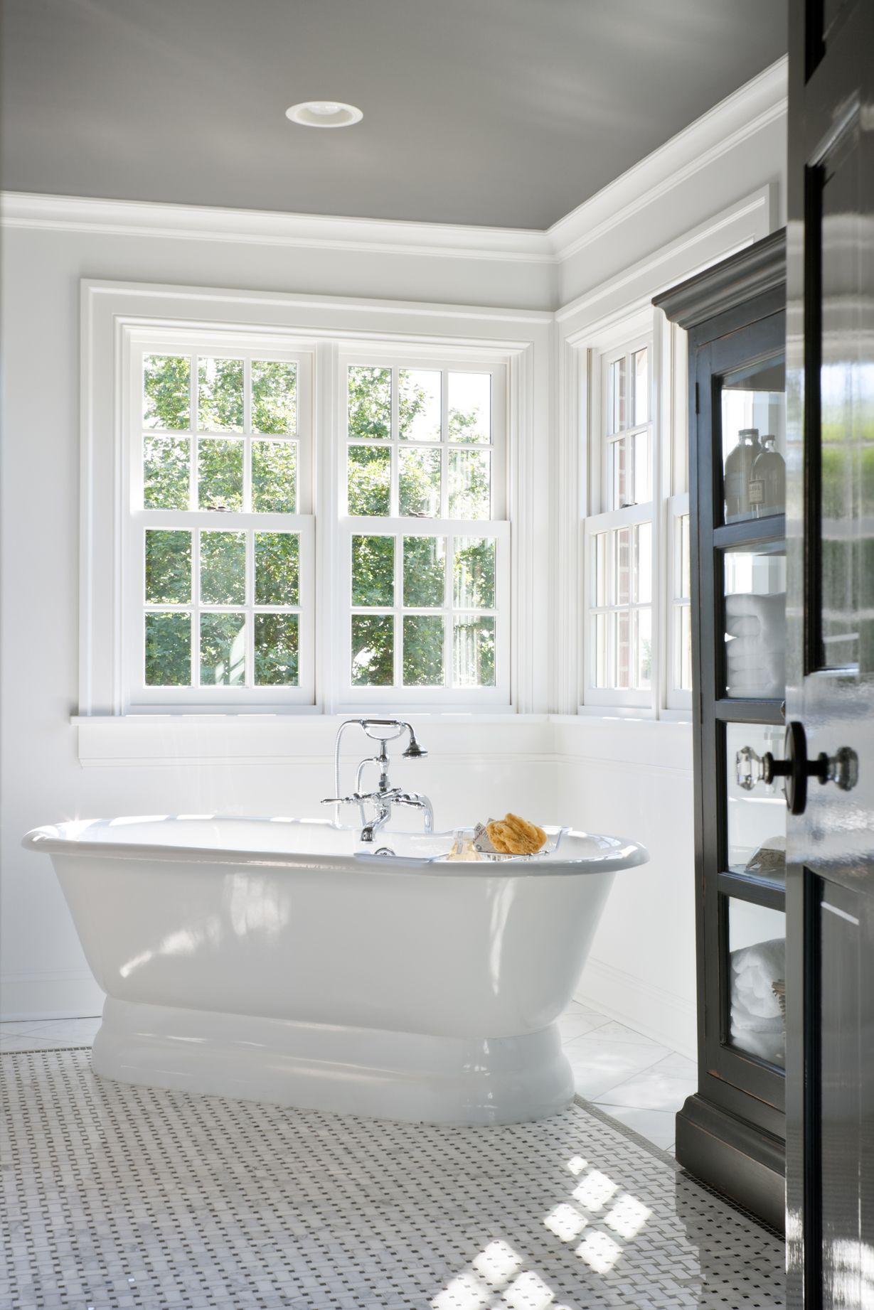 Nell Hills: Boring to Beautiful - Corner Pedestal Soaker Tub ...