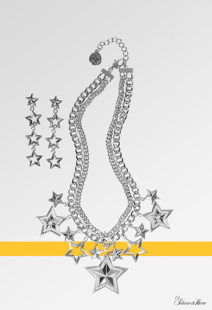 Aretes y Collar de Estrellas BCBG Generation - El Palacio de Hierro - #Genración2015