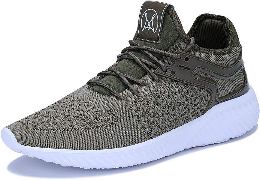 Acreat Men Lightweight Breathable Walking Running Shoes