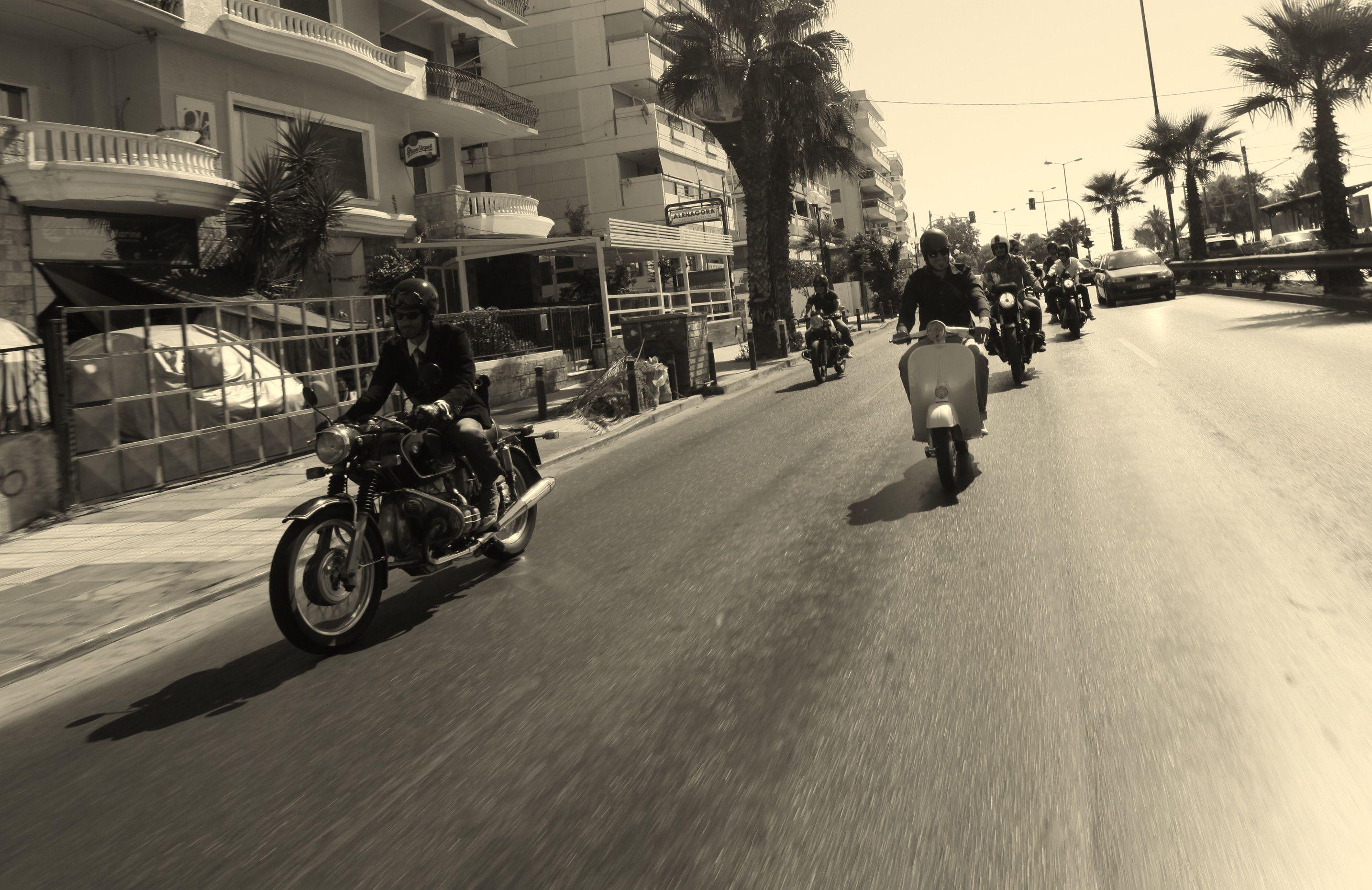 Athens dgr 2013 riding athens motorbikes