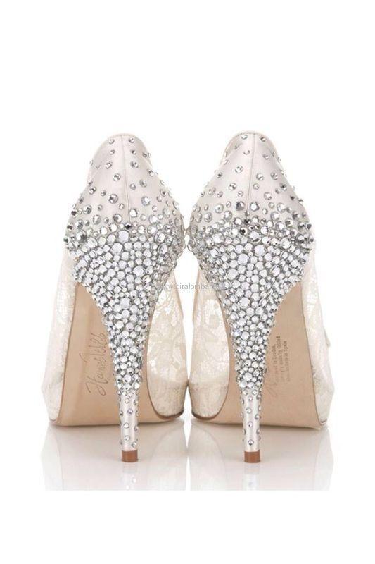 Scarpe X Sposa 2014.Moda Sposa 2014 Le Scarpe Piu Luxury Trend Per Una Sposa