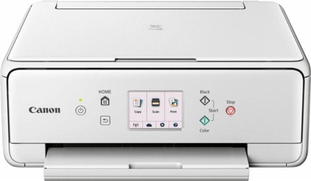 Canon PIXMA TS6020 Wireless AllInOne Printer White