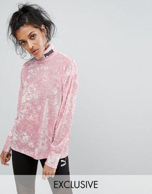 Puma | Puma Exclusive To ASOS Velvet Sweatshirt | clothes 2