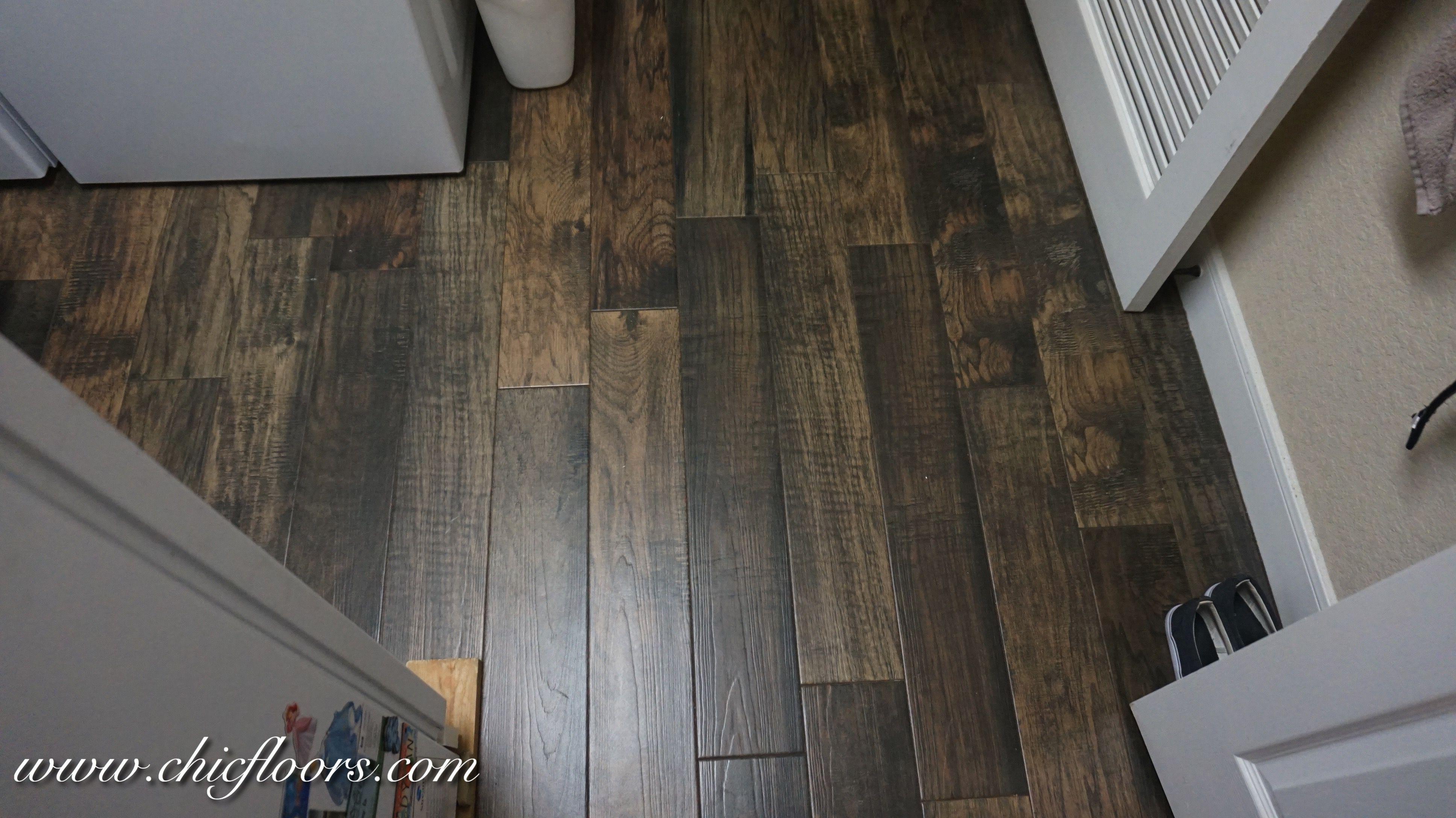Beautiful Wood Look Tile By Shaw Hacienda Color Walnut Wood Look Tile Wood Like Tile Flooring