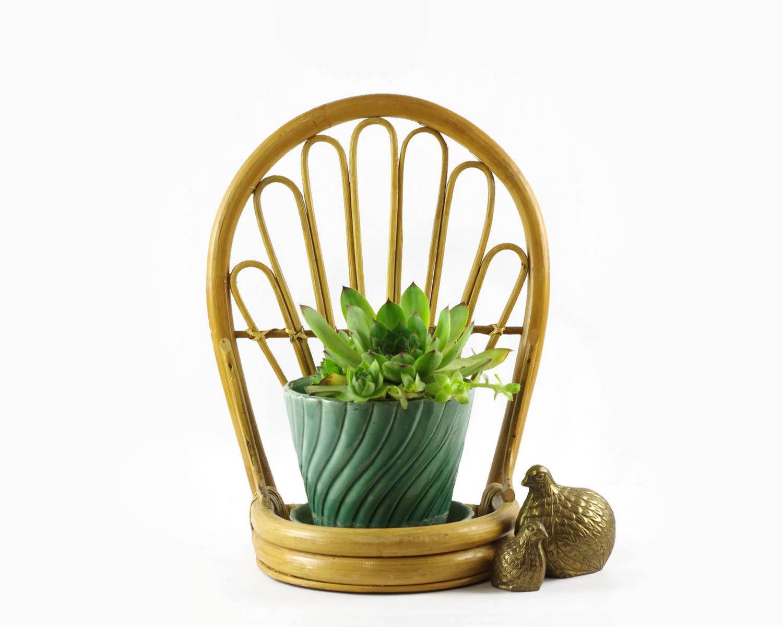 Small Rattan Shelf, Boho Chic Decor, Bamboo Wall Shelf | Pinterest ...