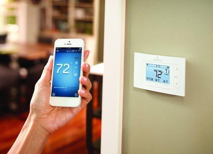 Sensi Wi Fi Thermostat Smart Thermostats Alexa Device Best Wifi
