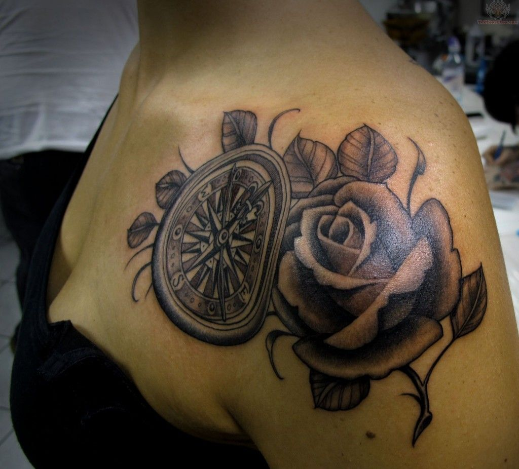 Compass-Rose-Tattoo | Tattoos | Pinterest | Compass rose tattoo ...