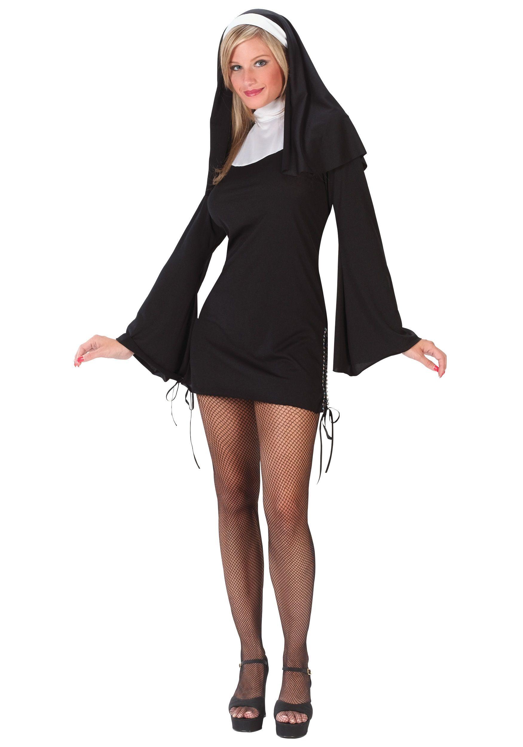b6ab7223c53 sexy nun costume   female   Halloween costumes, Costumes, Nun costume