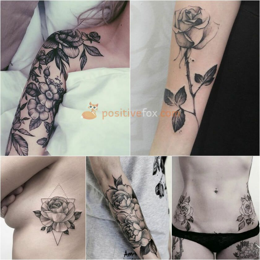 Best 100+ Rose Tattoo Ideas - Rose Tattoos Ideas with Meaning