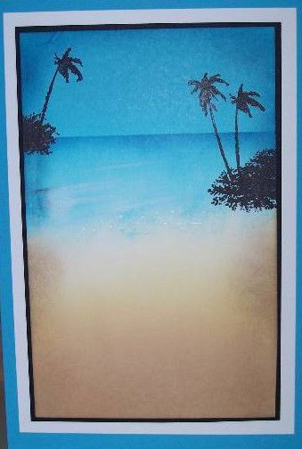 2 Palm Trees (U get photo #2 RETIRED. Sells for 7.79.  Sold separately are the other items used in the examples. Made by Art Impressions Rubber stamps. You can purchase all items in my ebay store: Pat's Rubber Stamps & Scrapbooks, Click on the picture & see the listing , or call me 423-357-4334 with order, We take PayPal. You get FREE SHIPPING ON PHONE ORDERS of $30.00 or more. If it says sold I have more. Use my search engine to find the items you are interested in