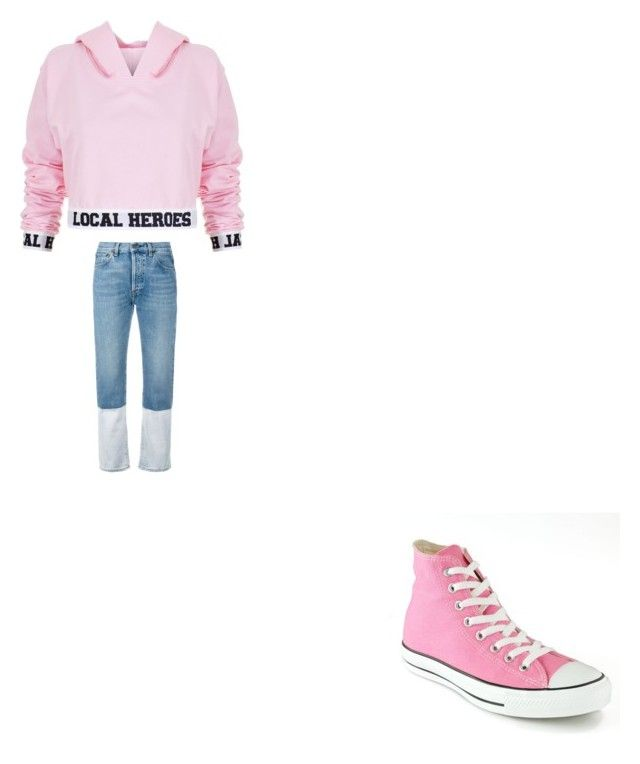 """sazk"" by bvby-bre ❤ liked on Polyvore featuring Local Heroes, Ports 1961 and Converse"