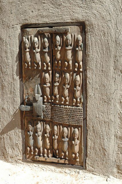 Image result for dogon door