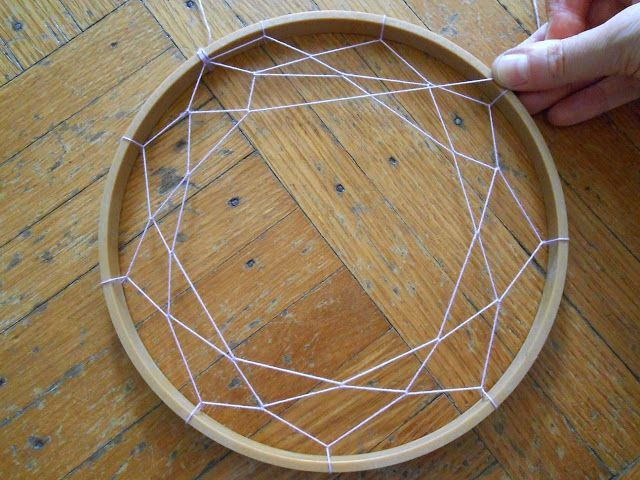 We Can Re-Do It: Embroidery Hoop Dream Catcher-- Good