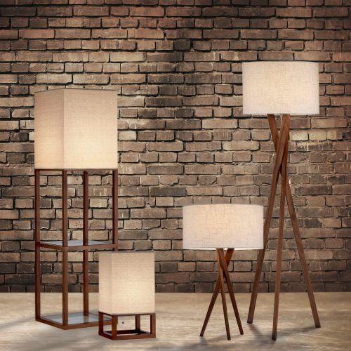 Adesso Crowley Shelf Floor Lamp Floor Lamp Floor Lamp With Shelves Table Lamp
