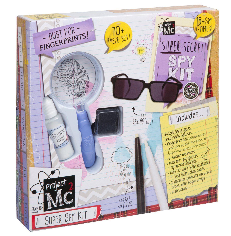 Amazoncom Project Mc2 Super Spy Kit Toys & Games