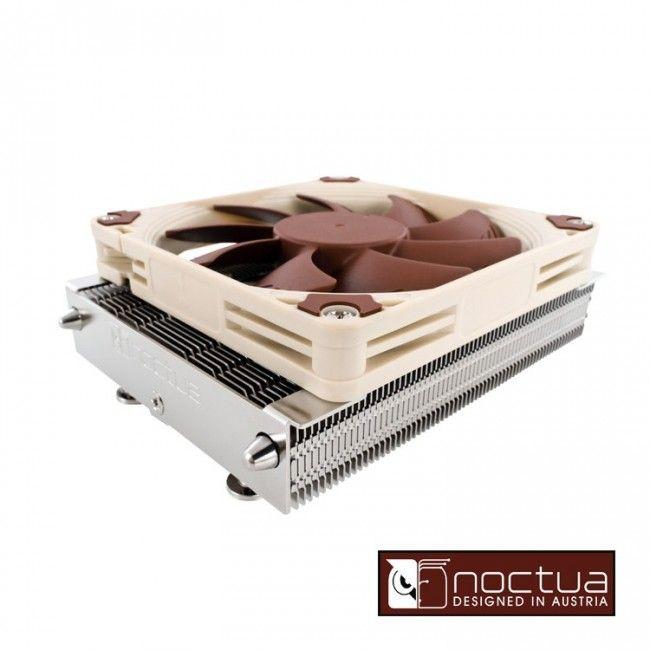 Cooler Cpu Noctua Nh-l9a Low Profile Socket Amd/Intel, un disipador para cajas pequeñas