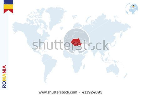 Pin by cristian chiriac on romania pinterest romania map flag world map with magnifying on romania blue earth globe with romania flag pin zoom on romania map vector illustration buy this stock vector on gumiabroncs Images