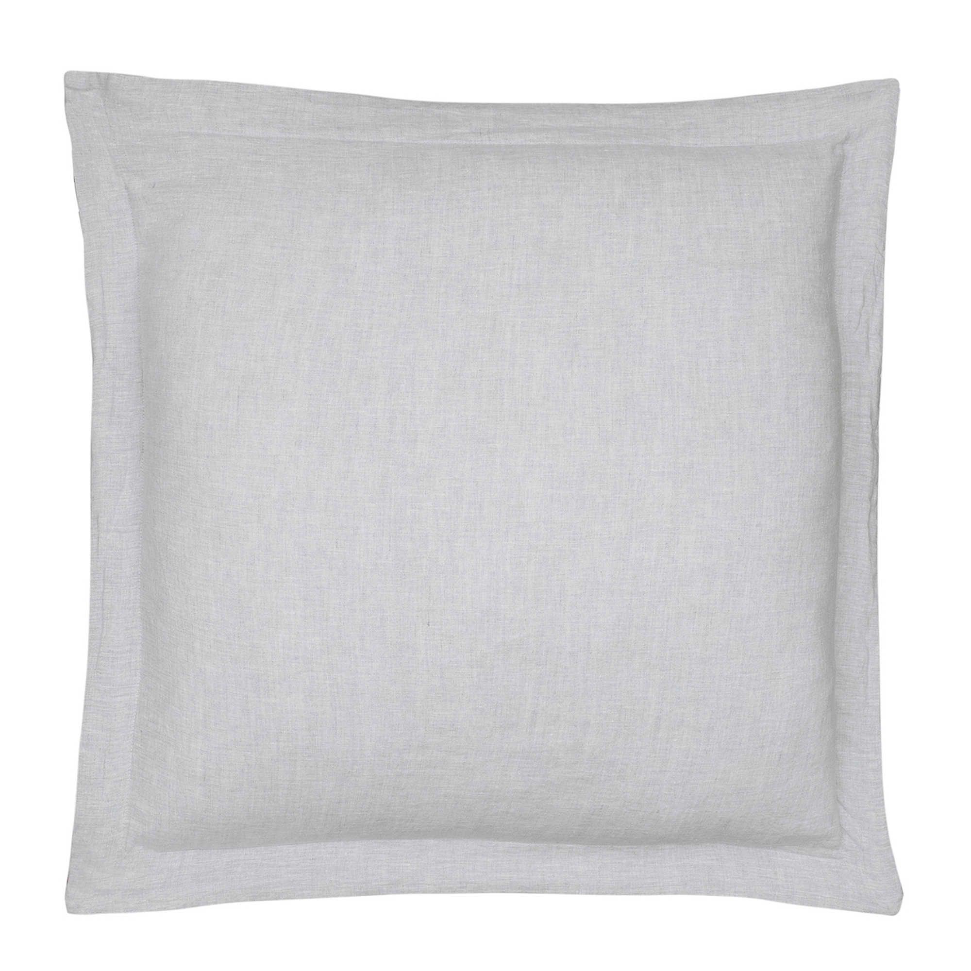 Levtex Home Washed Linen European Pillow Sham In Light Grey