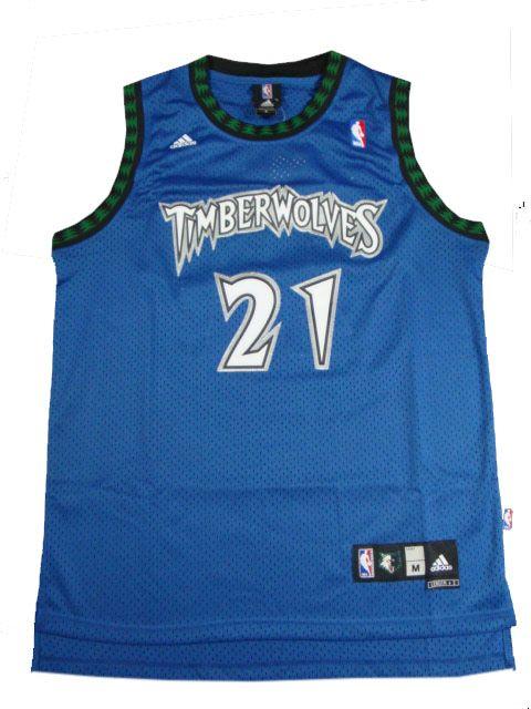 promo code 7e1e2 c3188 Kevin Garnett, Minnesota Timberwolves [Blue] | NBA JERSEYS ...
