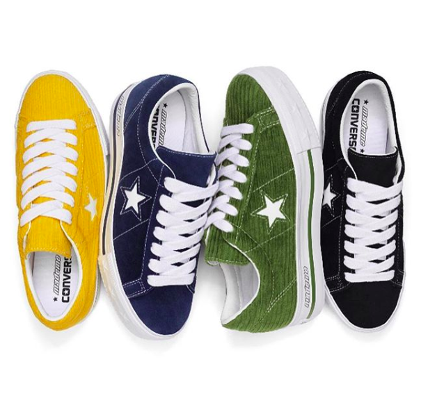 CONVERSE X MADEME ONE STAR PLATFORM LOW TOP in 2019