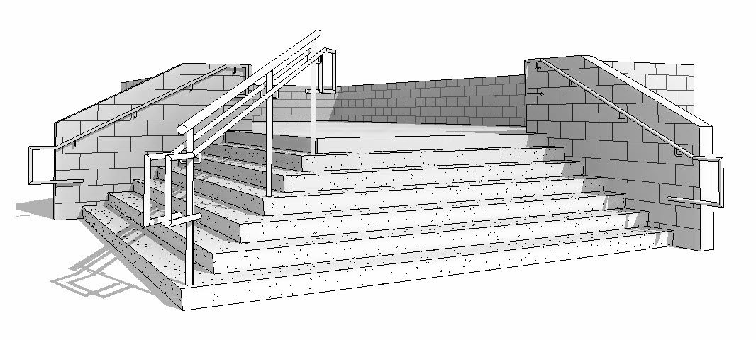 Best Revit Oped Smooth Or Stepped Stair Setting Stairs 400 x 300