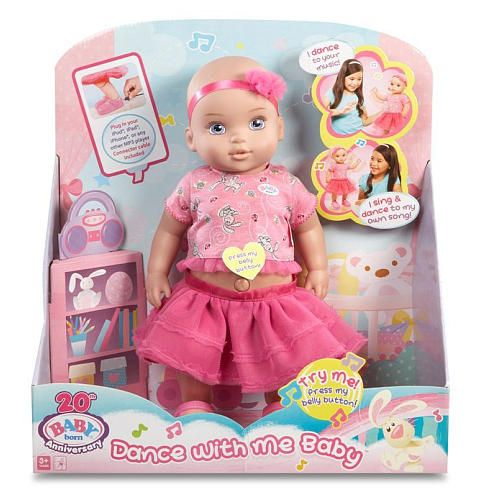 Baby Born Dance With Me Baby Doll Mga Entertainment