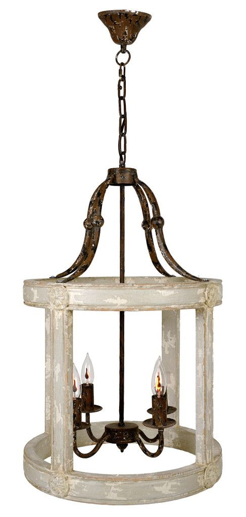 Annabelle Lantern Sand Virginia French Farmhouse And - French country pendant lighting