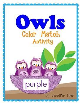 adorable owl color match