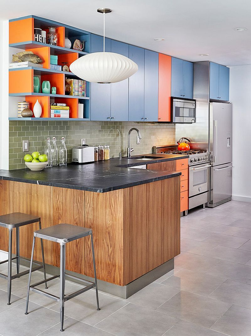 Colors To Pair With Blue 30 Best Ideas And Inspirations That Lead The Way Blue Kitchen Decor Modern Kitchen Kitchen Design